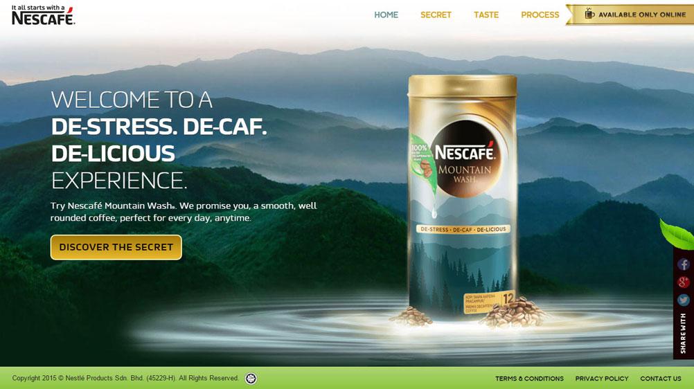 Nescafe Mountainwash